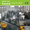 De flessenvlokken die van het HUISDIER van het afval recyclingsinstallatie wassen