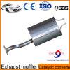 Pot d'échappement de véhicule avec des genres de matériau d'usine de la Chine