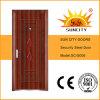 選抜しなさいデザイン安全熱い外部の鋼鉄鉄のドア(SC-S006)を