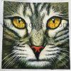 Handmade Tiger face à l'huile sur toile peintures art mural Animal