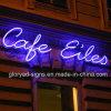 Nuevo café al aire libre de encargo del LED que hace publicidad de las muestras de neón