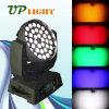 Het LEIDENE van de LEIDENE RGBWA 36*15W Lichten van het Effect 5in1 Licht van DJ