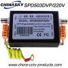 Dispositifs de protection contre la foudre Single Single, Vidéo de BNC (SPD503DVP / 220V)