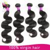 100% Remy Onda Boay Brasileiro Virgem Tecelagem de cabelo humano,