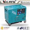 Generador diesel silencioso estupendo de la certificación del CE (DG6500SE-N)
