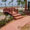 Доски Decking WPC мост деревянной пластичной деревянный/морская палуба