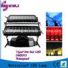 Luz dobro impermeável da cor da cidade do diodo emissor de luz de RGBW 4in1 72PCS *10