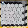 Tegel van het Mozaïek van Carrara Hexagon Marmeren