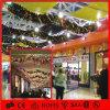 クリスマスの装飾的なハングの花輪の軽いショッピングモールの装飾ライト