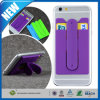 2-em-1 Silicone Mobile Holder Self Adhesive Slim Phone Stand