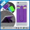 Support de téléphone 2-en-1 Silicone Mobile Holder Adhésif Slim Phone Stand
