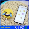 Lader van de Batterij van de Telefoon 2600mAh van de Achterschepen van het Beeldverhaal van Emoji de Draagbare