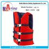 カヤック釣使用のための赤いカラー救命胴衣