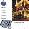 18W RGBW lumière LED de plein air Lavage de projecteur à LED pour la construction