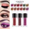 Veronni de alta calidad de polvo de purpurina 12 colores pigmento en polvo Eyeshadow cara