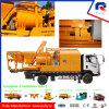 Diesel y eléctrica montada en camión bomba mezcladora de concreto en venta (JBC40)
