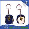 도매 고품질 선전용 선물 관례 PVC Keychain