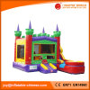 Aufblasbare Prinzessin Bouncy Slide Combo Castle mit Pool (T2-200)