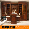 Oppein Classic Birch Solid Wood Wine Cabinet (JG0541628)