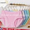 Ropa interior linda dulce respirable Panty de las señoras de la ropa interior de las chicas jóvenes del diseño del Lacework de moda modal caliente de la venta