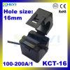 Kct-16 100-200A / 1A Transformateur de courant à courant divisé Clip sur CT