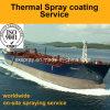 Capa superficial protectora duradera que procesa para las tuberías de la transferencia de los tanques de almacenaje y los cascos del petrolero para la industria de petróleo