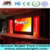 Haciendo publicidad del panel de visualización de LED P4 de interior