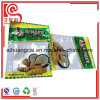 Bolso plástico lateral del alimento del papel de aluminio del sello para el jengibre