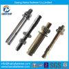 Aço inoxidável Ss304 / Ss316 com aço inoxidável Zinc metálico Hitli Anchor Bolt of Expansion Bolt Wedge Anchor Bolt (M6-M24)