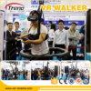 O parque de diversões monta a escada rolante da realidade virtual