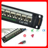 CAT6A 24ports Shielded Network Patch Panel
