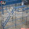 Systeem van de Steiger Quicklock van het staal het Tubulaire voor Bouwconstructie