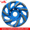 L Shape Diamond Grinding Cup Wheels para Concrete Grinding