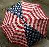 미국 국기 별 & 줄무늬 애국적인 자동적인 열려있는 우산