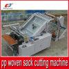 Machine de découpage automatique de fournisseur chinois pour le sac tissé par pp à plastique