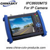 Moniteur de test de caméra IP CCTV avec fonctions Tdr (IPCT8600MTS)