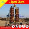 Separatore dello scivolo a spirale di arricchimento del minerale metallifero dello stagno di alta efficienza