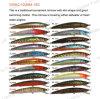 La pêche Lure ,Pêche ,leurre en plastique--Slim minnow (HRL028)