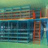 Racking industrial do mezanino do armazenamento da capacidade elevada