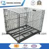 Промышленная Stackable складная клетка ячеистой сети металла хранения