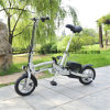 [36ف] [10ه] يطوي درّاجة كهربائيّة مع [ليثيوم يون بتّري]