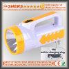 Antorcha recargable de 1W LED con luz de lectura de 18 LED (SH-1952)