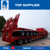 Nouveau design Titan 4 essieux utilisés 60tonne - 100tonne faible lit semi-remorque de camion de transport en Afrique du Sud
