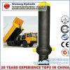 Cilindro hidráulico personalizado do petróleo do lixo da qualidade superior para o caminhão
