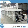 Máquina auto registro de impresión en huecograbado