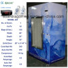 Крытый положенный в мешки замораживатель льда бункера льда с стеклянной дверью