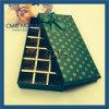 Caixa de embalagem de chocolate de impressão verde de alta qualidade (CMG-PCB-009)