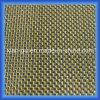 Tissu de fibre de carbone de fil d'argent d'amorçage d'or