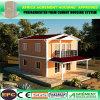 Casa pré-fabricada modular da HOME modular à prova de fogo clara da casa de campo da construção de aço