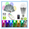 Lampe intelligente en aluminium magique de boule de WiFi LED de lumière de Noël de LED